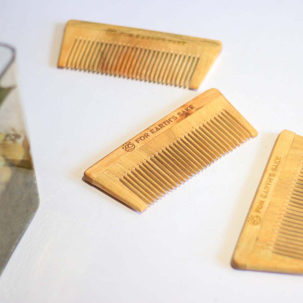 Neem-wood combs