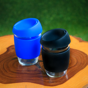 Reusable Coffee Cup with Heat Resistant Sleeve