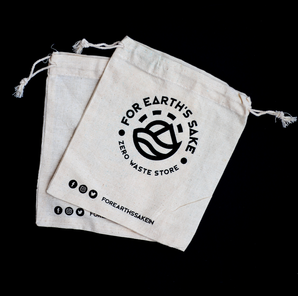 Reusable Cotton Pouch