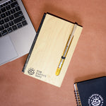 Wooden Corporate Diary (A5 Ruled)