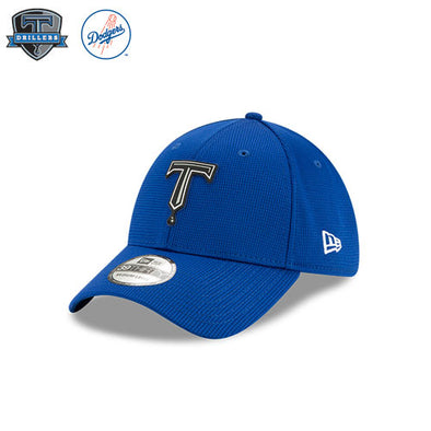 Tulsa Drillers Clubhouse Collection Royal 39Thirty Stretch Fit