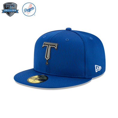 Tulsa Drillers Clubhouse Collection Royal 59Fifty Fitted