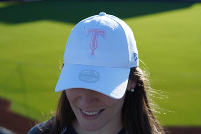 Tulsa Drillers Ladies 9Forty Adjustable Cap White
