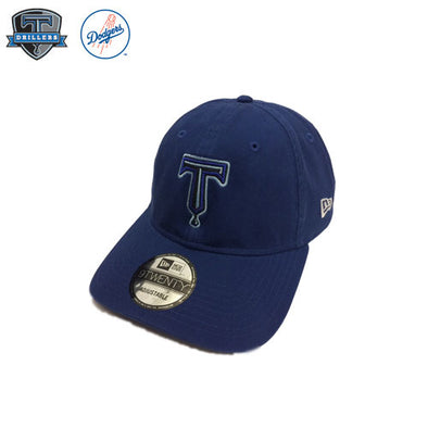 "Tulsa Drillers Royal 9twenty ""T"" Logo"