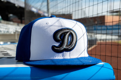 "Drillers Alternate ""D"" 59Fifty White/Royal PRE-ORDER"