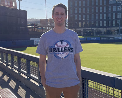 Tulsa Drillers Gray Adult Affiliate Tee 2020