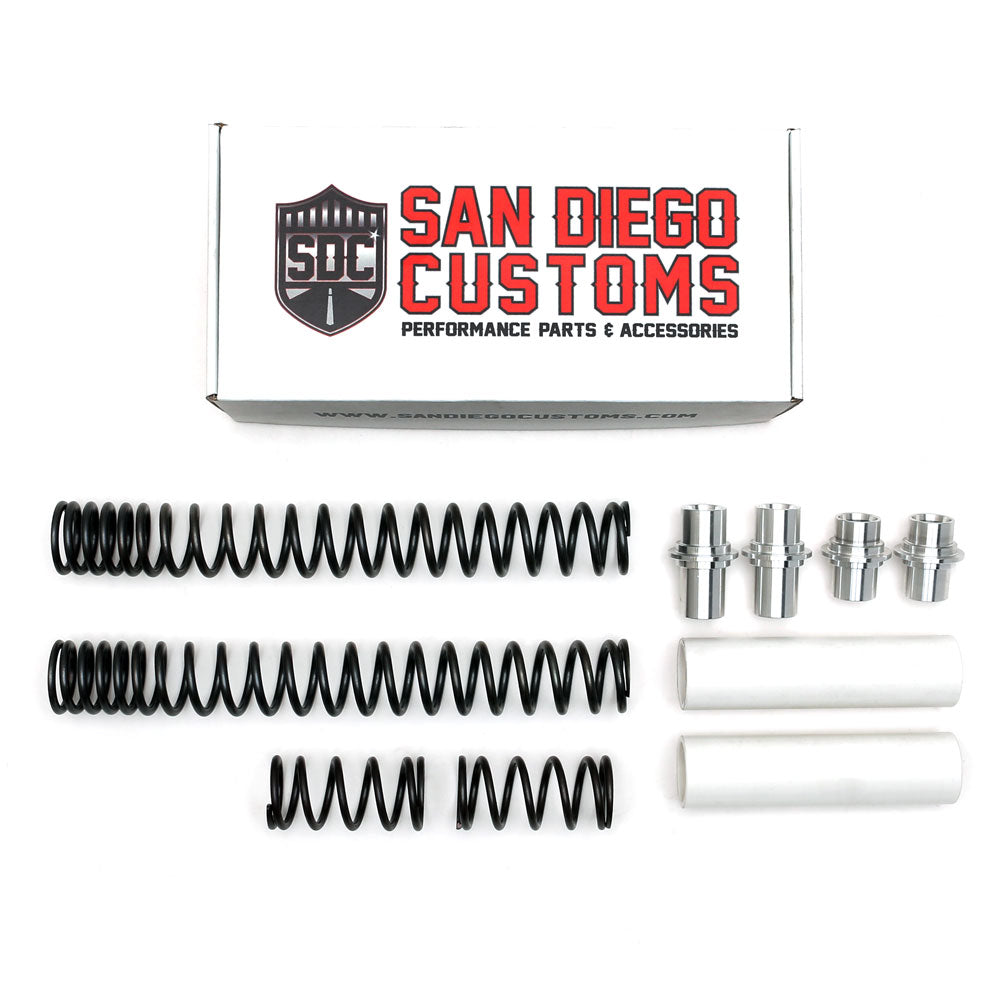 San Diego Customs 49mm Tripple Rate Fork Spring Kit