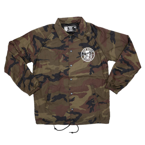 Camo Ripper Windbreaker