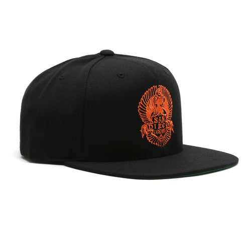 EASY Snap Back Hat - BLACK