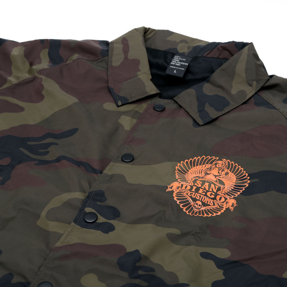 Easy Camo Windbreaker