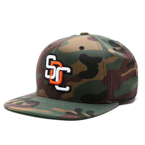 Home Run Snap Back Hat - CAMO