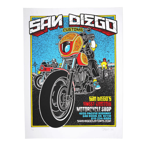 MIKE GIANT SDC POSTER - COLOR