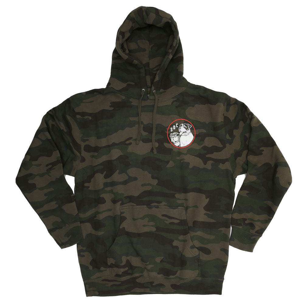 OLD DOGS Camo Hoody by SKETCHY TANK