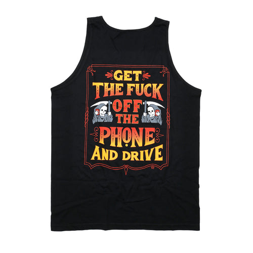 Get of the Phone Tank Top
