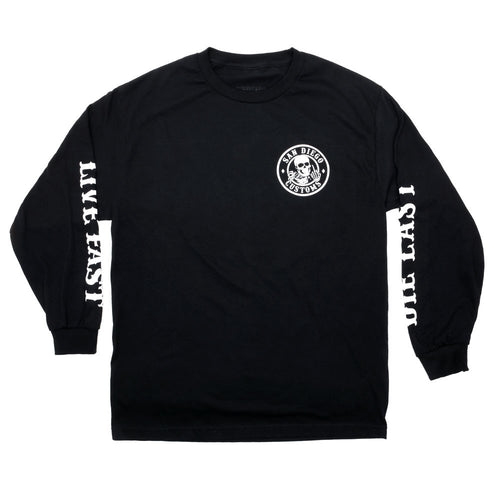 Circle Ripper Long Sleeve Tee