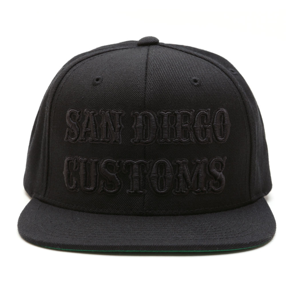 SDC BLACKOUT Snap Back Hat