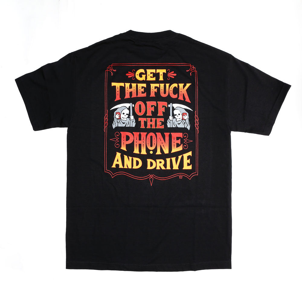 Get off the Phone SS Tee