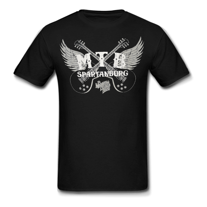 Black Winged Guitars Shirt