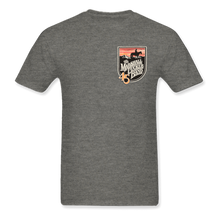 Load image into Gallery viewer, Gray Shirt with Shield Logo