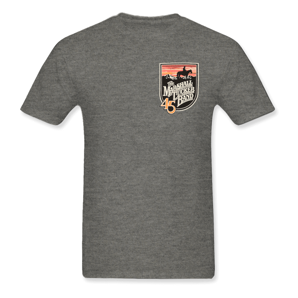 Gray Shirt with Shield Logo