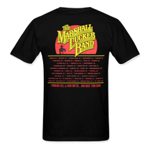 "Load image into Gallery viewer, ""Hell and High Water Tour"" 2019 Black Tee"
