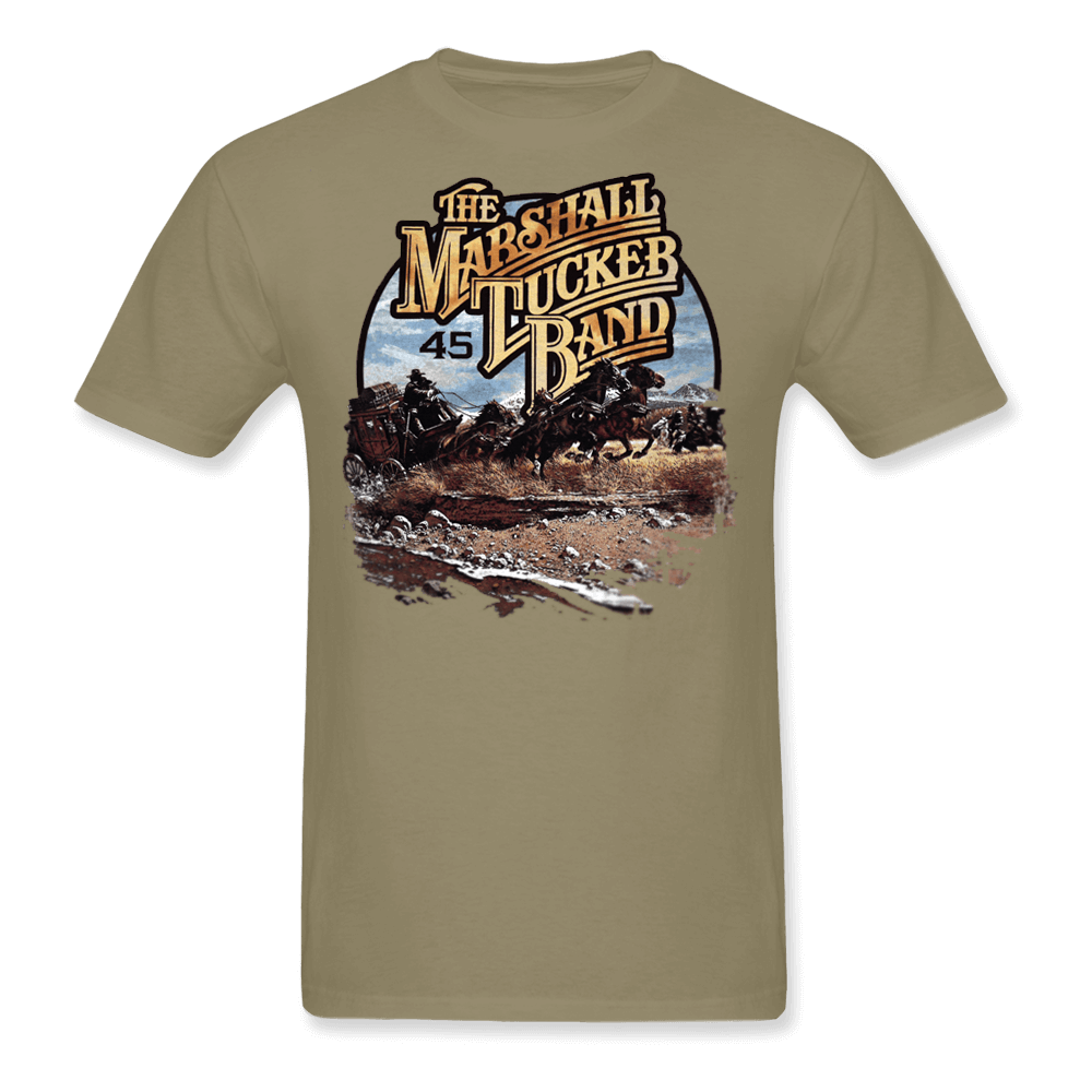 45th Anniversary North American Tour Tan Shirt