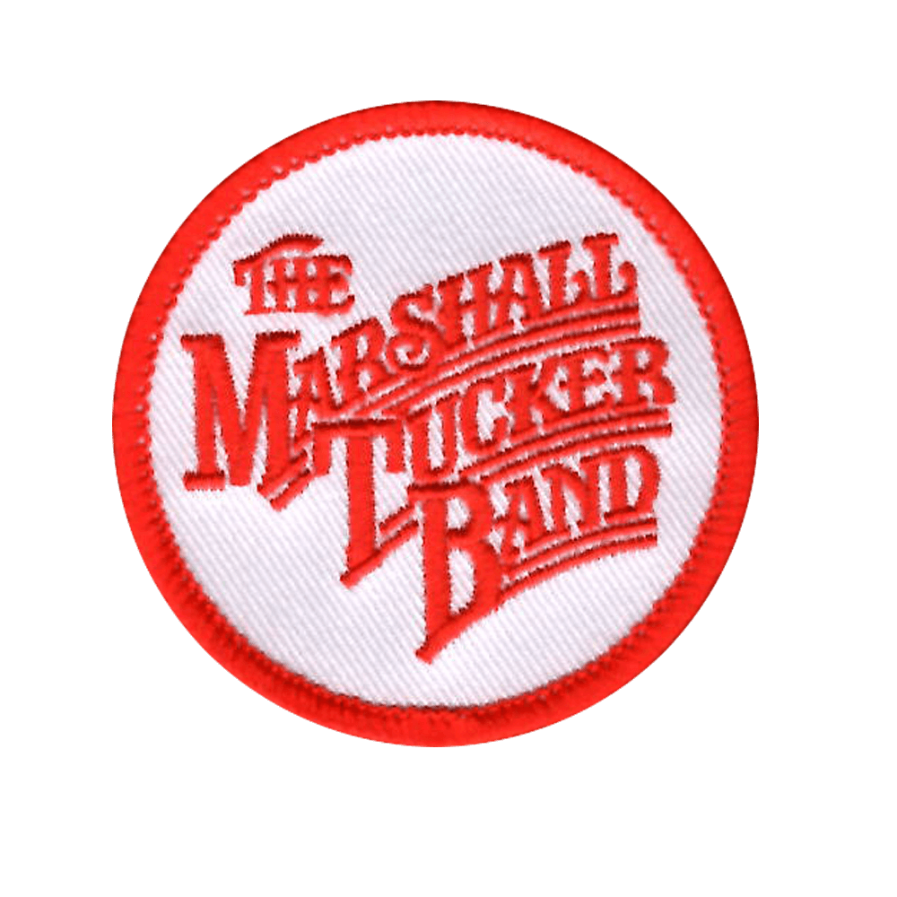 Red and White MTB Patch