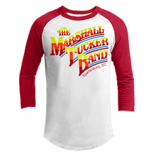 Load image into Gallery viewer, Red and White Raglan