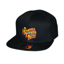 Load image into Gallery viewer, Gradient Style Black Trucker Hat