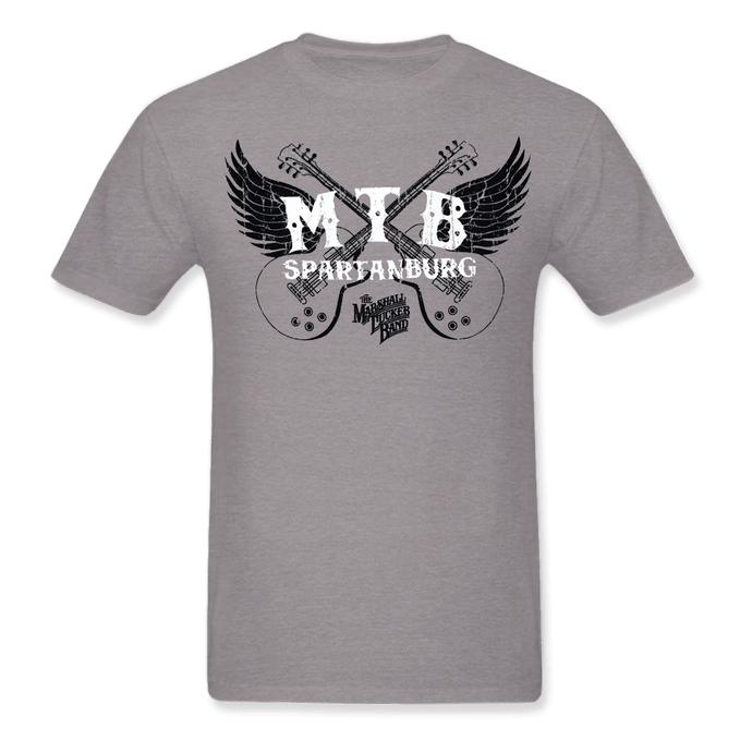 Grey Winged Guitars Shirt