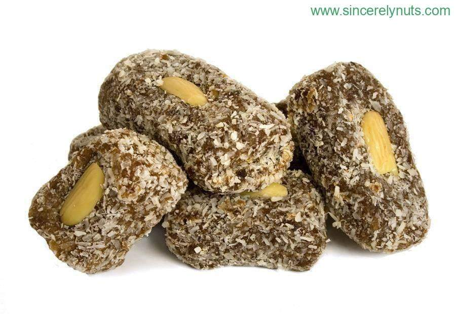 Date Nut Rolls - Sincerely Nuts