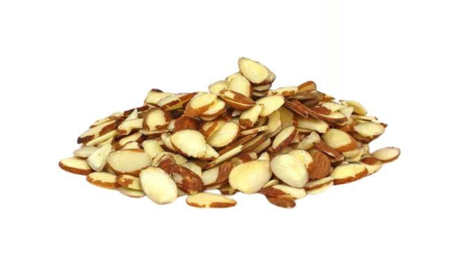 Raw Almonds Slices