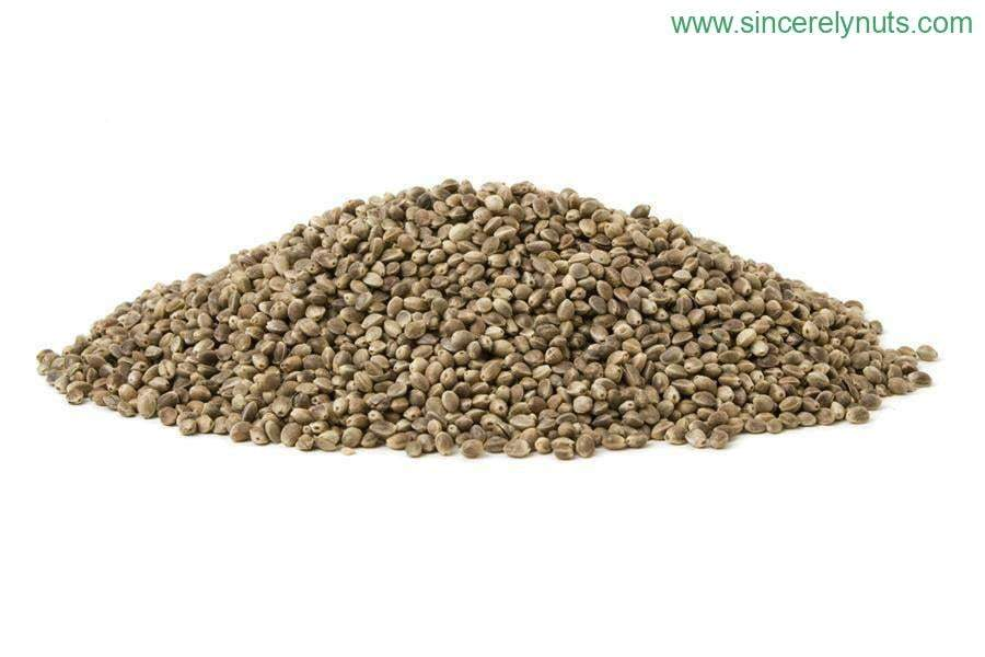 Hemp Seeds Roasted Salted In Shell - Sincerely Nuts