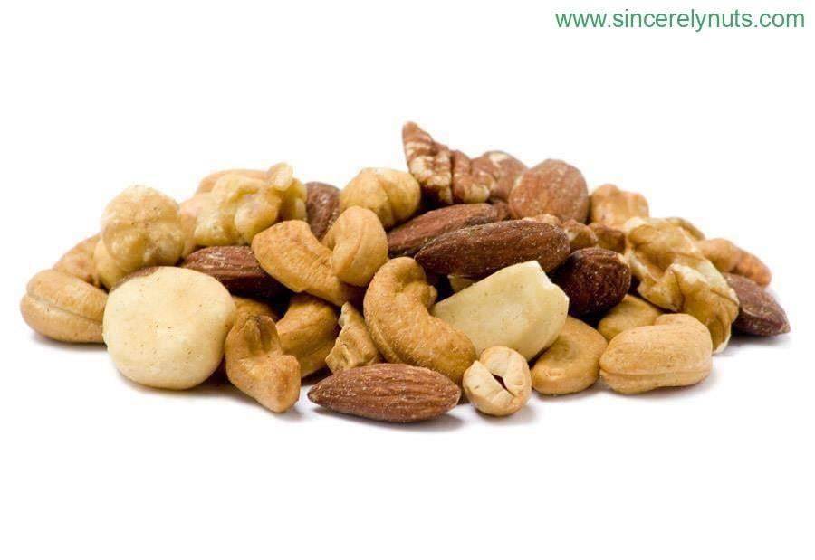 Mixed Nuts Roasted Unsalted - Sincerely Nuts