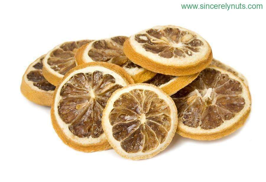 Natural Dried Lemon Slices - Sincerely Nuts