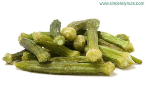 Okra Chips - Sincerely Nuts