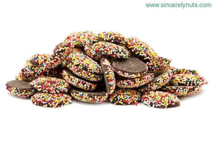 Rainbow Non-Pareils - Sincerely Nuts