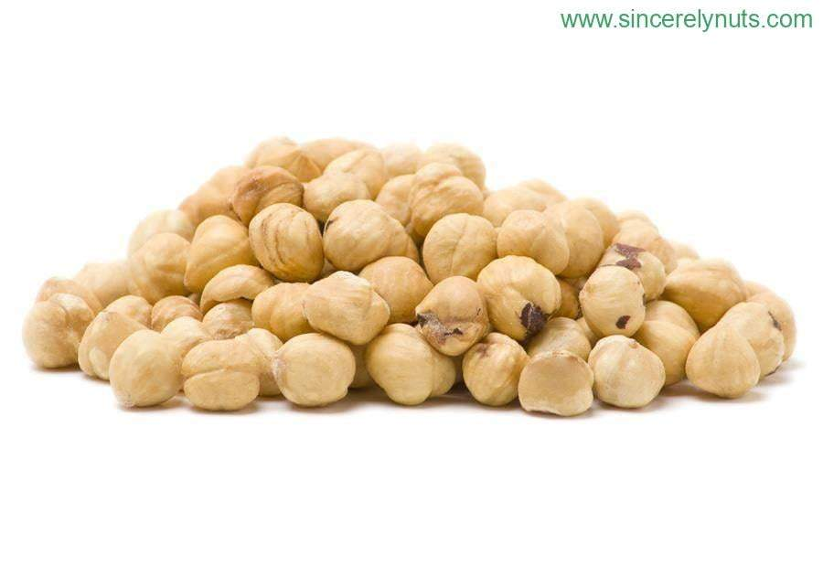 Roasted & Salted Blanched Hazelnuts - Sincerely Nuts
