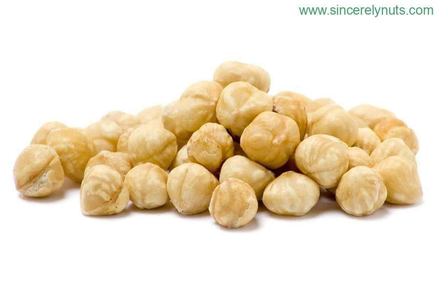 Roasted & Unsalted Blanched Hazelnuts - Sincerely Nuts