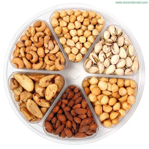 Salted Mixed Nuts Gift Tray - Sincerely Nuts