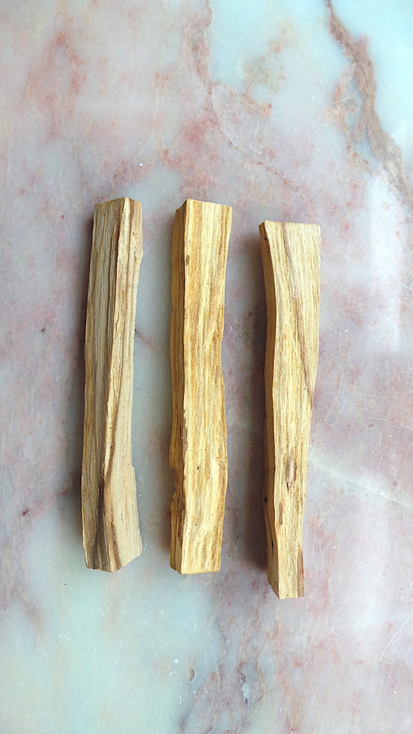 Palo santo wood (ethically sourced)