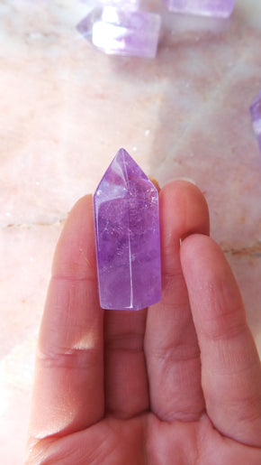 Translucent Amethyst Points