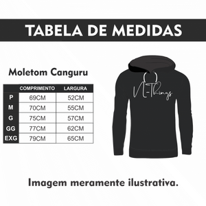 N-Things Moda - Conjunto Moletom Canguru Masc.