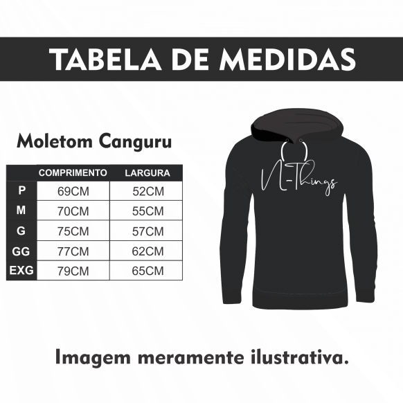 N-Things Moda - Conjunto Moletom Canguru Zipper Fem.