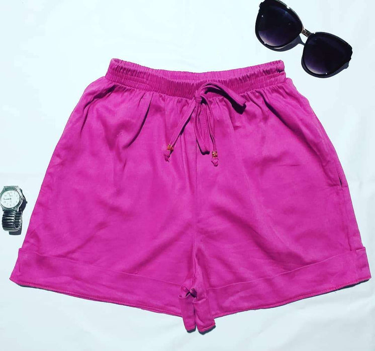 Fundanga Moda - Shortinho Informal Magenta