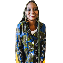 Carregar imagem no visualizador da galeria, Mary.Afro Slow Fashion - Blazer Alongado Ankara