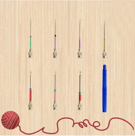Easy Craft Embroidery Punch Needles (10 pcs set)