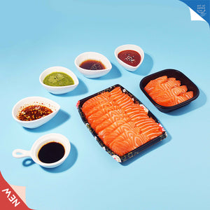 Load image into Gallery viewer, let's dip it! sashimi with special dipping sauce