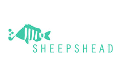 Sheepshead Hat Fish Pipe Logo