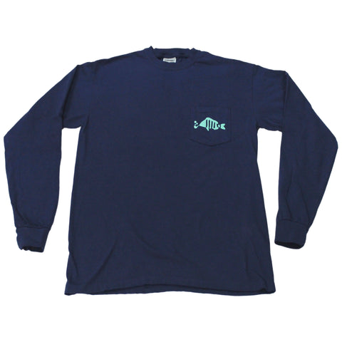 Navy Sleeved